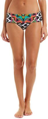 Trina Turk Africana Foldover Hipster Bikini Bottom
