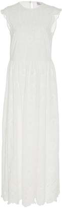 Red Valentino Dress with Floral Embroidery $1,195 thestylecure.com