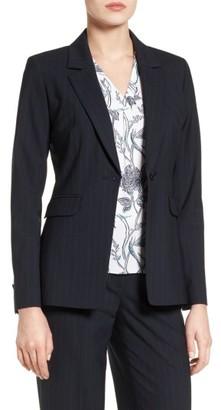 Women's Classiques Entier Pinstripe Suiting Jacket $299 thestylecure.com