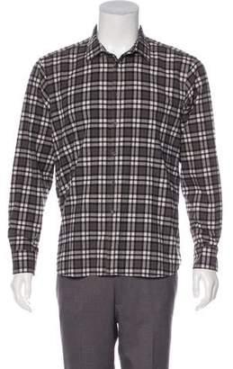 Simon Spurr Printed Button-Up Shirt