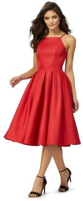 Lipsy Chi Chi London - Red 'Amity' Midi Prom Dress