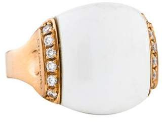 Chimento 18K Agate & Diamond Ring
