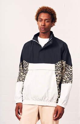 Pacsun Leopard Blocked Anorak Jacket