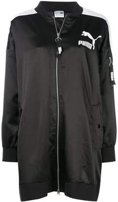 Puma Archive T7 long bomber jacket