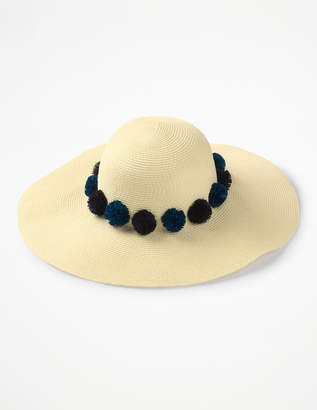 Boden Pompom Sun Hat