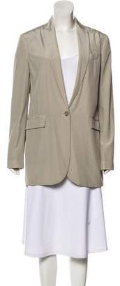 Gucci Silk Structured Blazer