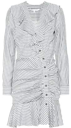 Veronica Beard Kai cotton-blend striped dress