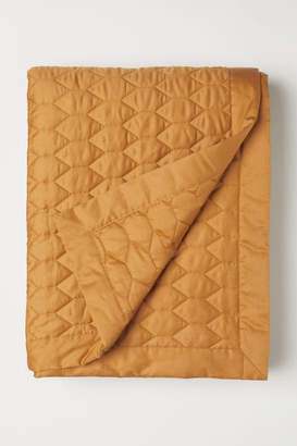 H&M Quilted Bedspread - Yellow