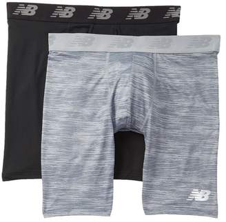"New Balance Premium Performance 9\"" Boxer Briefs - Pack of 2"