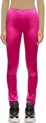 Junya Watanabe Pink Satin Leggings