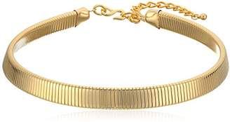 Kenneth Jay Lane Snake chain Choker Necklace