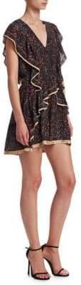 IRO Jicka Ruffle Front Dress