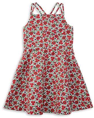 Ralph Lauren Floral Crisscross Dress