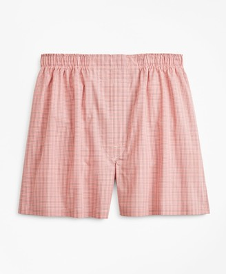Brooks Brothers Traditional Fit Glen Plaid Boxers