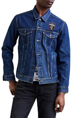 Levi's Cleveland Cavaliers Denim Trucker Jacket