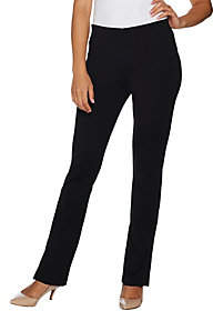Kelly by Clinton Kelly Petite Ponte KnitBootcut Pants