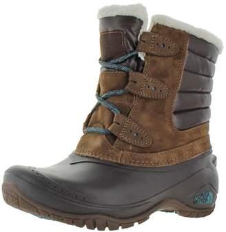 The North Face Women's Shellista II Shorty Waterproof Winter Boot Dk Brown US
