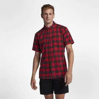Hurley Bison Men's Short Sleeve Shirt