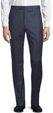Todd Snyder Flat-Front Wool Trousers
