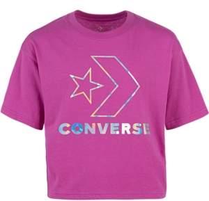 Converse Big Girls Logo-Print Cotton T-Shirt