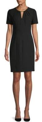 Elie Tahari Lucetta Short-Sleeve Dress