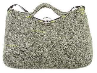 Balenciaga Zigzagger Woven Bag