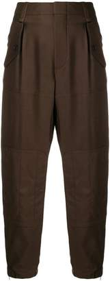 Chloé high waisted tapered trousers