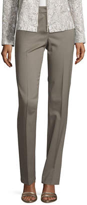 Lafayette 148 New York Barrow Stretch-Wool Suiting Pants $348 thestylecure.com