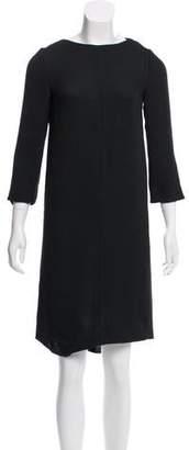 Cacharel Crepe Mini Dress
