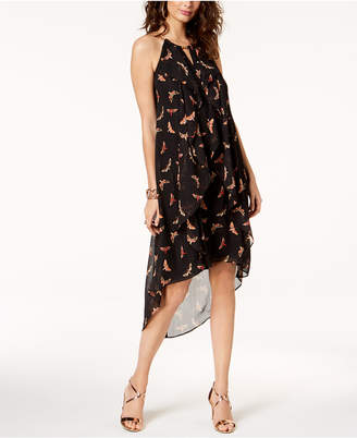 Thalia Sodi Chain-Neck High-Low Dress, Created for Macy's