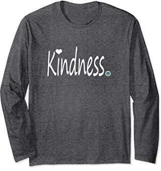 Inspirational Journey Tshirts Long Sleeve Kindness. heart