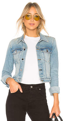 Cotton Citizen Crop Denim Jacket.