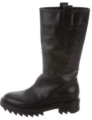 Tamara Mellon Leather Mid-Calf Boots
