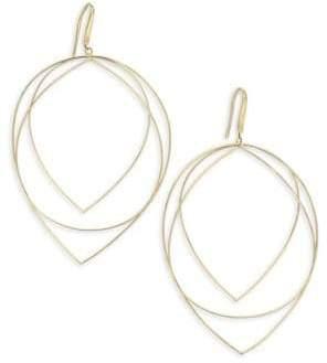 Lana Wire Large New Three-Tier Teardrop Earrings
