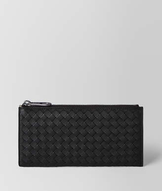 Bottega Veneta NERO/CEMENT INTRECCIATO NAPPA MULTI-FUNCTIONAL CASE