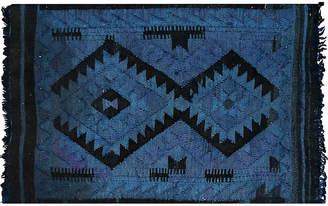"One Kings Lane Vintage 1940s Afghan Maimane Kilim - 2'2"" x 3'2"" - Nalbandian"