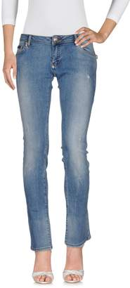 Philipp Plein Denim pants - Item 42641128SF