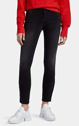 Frame Women's Le Skinny De Jeanne Snap-Vent Jeans - Gray