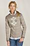 Women's Argyle Striped Sweater