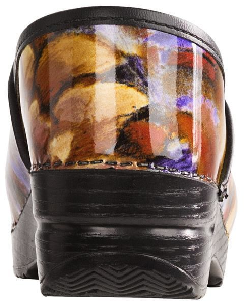 Dansko Professional Print Clogs - Patent Leather (For Women)
