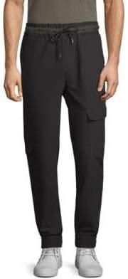 Lot 78 Lot78 Slim-FIt Crepe Combat Pants