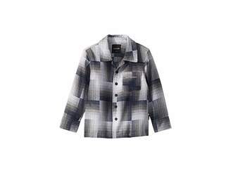 SUPERISM Brody Button Up Long Sleeve Flannel Shirt (Toddler/Little Kids/Big Kids)