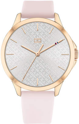 Tommy Hilfiger Women Blush Silicone Strap Watch 38mm