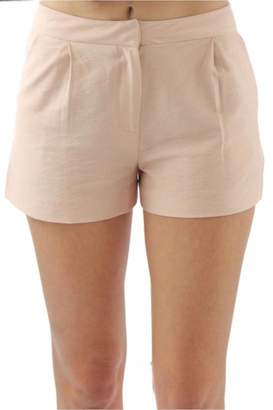 BCBGeneration Pink Tailored Shorts