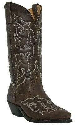 Laredo Leather Cowboy Boots - Runaway