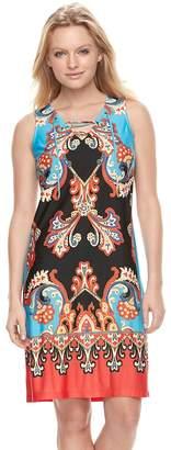 MSK Women's Scroll Shift Dress