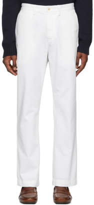 Polo Ralph Lauren White Basic Chino Trousers