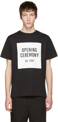 Opening Ceremony Black Logo T-Shirt $75 thestylecure.com