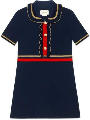 Children's wool dress with lurex $520 thestylecure.com