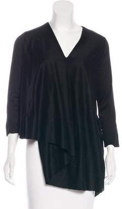 Cos Long Sleeve Asymmetrical Top